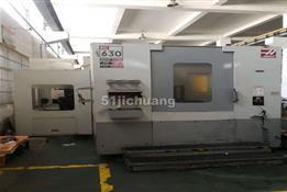【出售】美国哈斯EC 630铣床卧式加工中心八成新